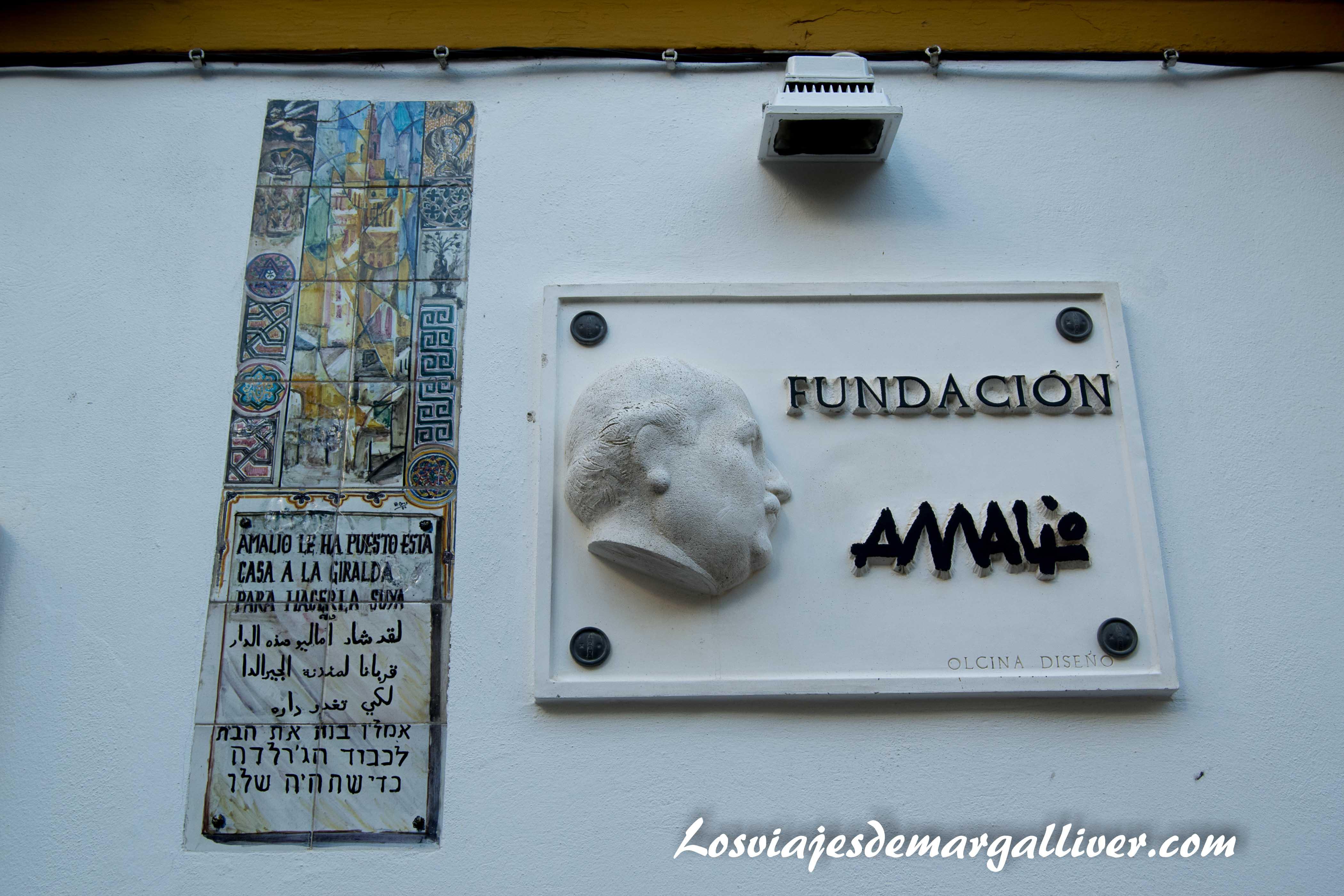 Puerta de la casa-museo Amalio - Los viajes de margalliver